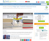 Bridge Types: Tensile & Compressive Forces