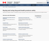 Buying and using drug and health products safely