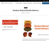 Student Mental Health Matters