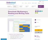 Multisensory Reading and Writing Tools