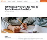 220 Writing Prompts for Kids to Spark Student Creativity
