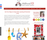 101 Awesome Summer Activities to Keep Kids Learning All Summer Long