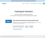 Seesaw Training for Teachers