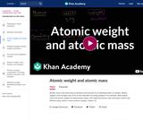 Atomic weight and atomic mass