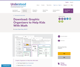 Graphic Organizers to Help Kids With Math