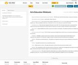 Arts Education Webtools