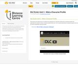DLC ELA6: Unit 1 - Web a Character Profile