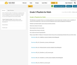 Grade 1 Playlists for Math