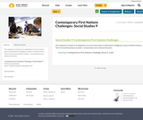 Contemporary First Nations Challenges- Social Studies 9