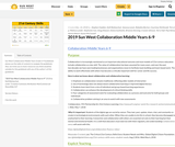 Collaboration Guidebook - 6-9 (Middle Years) Sun West