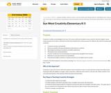 Creativity Guidebook - K-5 (Elementary) Sun West