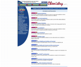 Chemistry Online Resource Essentials: Chapter 14 Gas Phase, Solubility, Complex Ion Equilibria