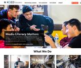 KQED Education - Media Literacy Matters