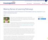 Making Sense of Learning Pathways