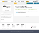 Sun West Reading Strategies Handbook - Reading in the Content Areas