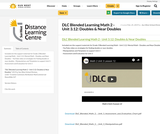 DLC Blended Learning Math 2 - Unit 3.12: Doubles & Near Doubles