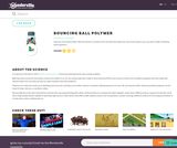Bouncing Ball Polymer Experiment