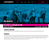 The Beatles, Lesson 3: The Beatles, A New Kind of Star