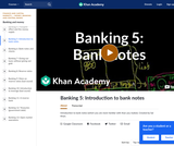 Banking, Money, Finance: Introduction to Bank Notes
