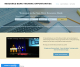 RESOURCE BANK TRAINING OPPORTUNITIES