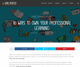 16 Ways to Own Your Professional Learning