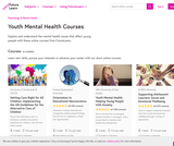 Free Youth Mental Health Courses