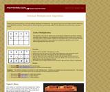 Alternate Multiplication Algorithms