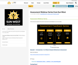 Assessment Webinar Series from Sun West