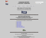 COMPLETE HISTORY OF THE CANADIAN Métis Culture