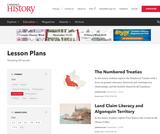 Canada's History Magazine Lesson Plans