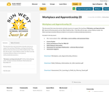 Workplace and Apprenticeship 20