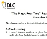 """The Magic Pear Tree"" Read Aloud: Listening Guide"