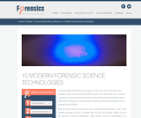 10 Modern Forensic Technologies Used Today