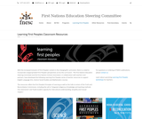 Learning First People - Classroom Resources (First Nations Education Steering Committee FNESC)