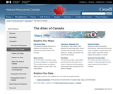 The Atlas of Canada - Natural Resources Canada