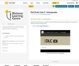DLC ELA6: Unit 2 - Homographs