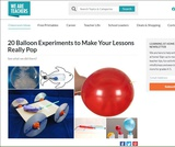20 Balloon Experiments For the Science Classroom