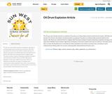 Oil Drum Explosion Article
