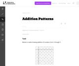 Addition Patterns
