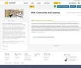 PAA: Construction and Carpentry