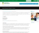 Adult Mental Health Clinics SK