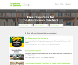 Learning Resources for Saskatchewan from Teachers. Plea.Org (K-12)