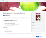 Building Literacy in Secondary Students