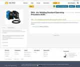 PAA - Arc Welding Standard Operating Procedure (SOP)