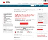 Canadian Red Cross - Exploring Humanitarian Law (EHL)