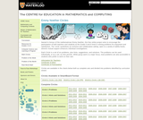 Math Circles Grades 5/6 University of Waterloo