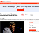 Jonathan Haidt on the Moral Roots of Liberals and Conversatives