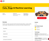 Canada Learning Code - Cats, Dogs & Machine Learning