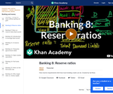 Banking, Money, Finance: How Reserve Requirements Limit How Much Lending a Bank Can Do