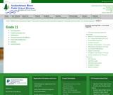 Grade 11 Curriculum Supports - Saskatchewan Rivers Public School Division No.119